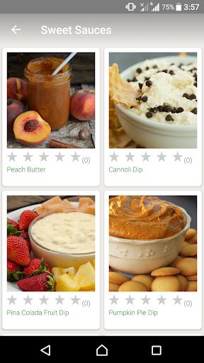 Sauce Recipes screenshot