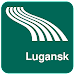 Lugansk Map offline Icon