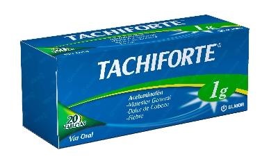 Acetaminofen Tachiforte 1 g x 20 Tabletas Elmor 1 g x 20 Tabletas