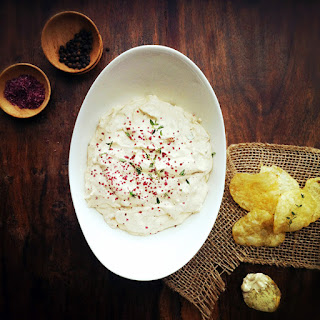 Caramelized Onion & Goat Cheese Dip.