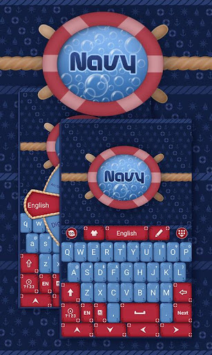 Navy Go Keyboard