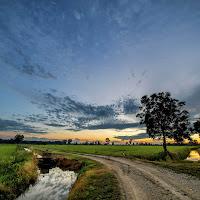 la strada dei campi di
