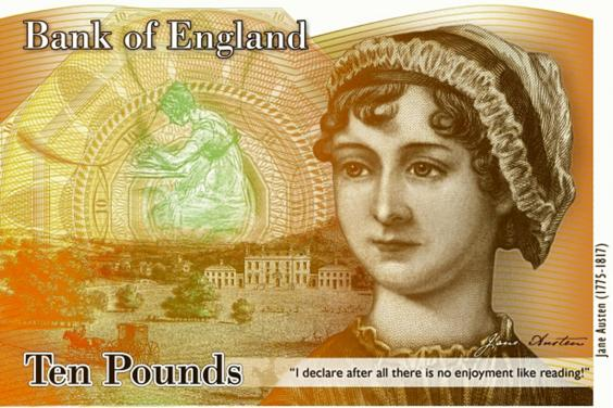 The bank note in concept form
