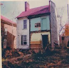 Photo: Back of Simon Lauck House, 1974