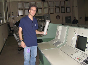 """Photo: Vince and part of the MCC """"email"""" system"""