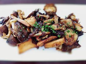 Photo: Seasonal Mushrooms (sauteed mushrooms, dates, toasted almonds)
