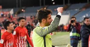 René Román fue clave en el triunfo frente al Lugo en 2018.
