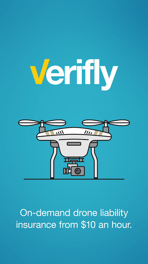 Verifly – Drone Insurance Now- screenshot