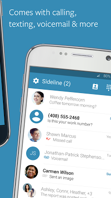 Sideline – 2nd Phone Number - screenshot