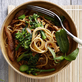 Lemongrass Chicken and Egg Noodle Stir-Fry.