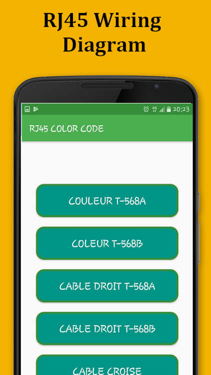 RJ45 Color Code Cable Wiring – (Android Apps) — AppAgg on