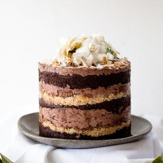 Momofuku German Chocolate Espresso Cake & a blog birthday