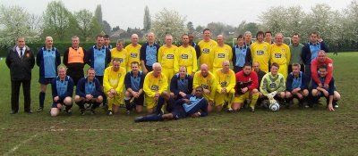 Photo: 01/05/05 v Ex Leeds Utd XI (Charity Match) 3-2 - Ex Leeds United XI - contributed by Brian Coutts