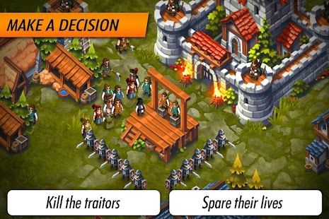 Lords & Castles - RTS MMO World War Battles Screenshot
