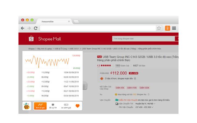 NOGav BKV7vvreK 8TtmWXGqIbxApwFpDbZ 2D995ur KRkNjV4UQhlVwc9na2PwHIRkXQhcjw=w640 h400 e365 - Bee Tracker: Thông báo giá sản phẩm tăng giảm trên Shopee, Tiki, Lazada