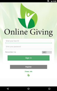 Online Giving- screenshot thumbnail