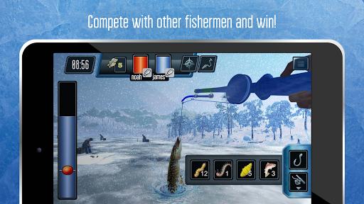 Ice fishing games for free. Fisherman simulator. screenshots 9