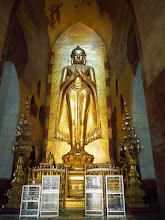 Photo: does anybody knows why are Buddha's images in Burma depicting him with lady like hips?