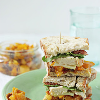 Chicken, Bacon and Mango Chutney Sandwich