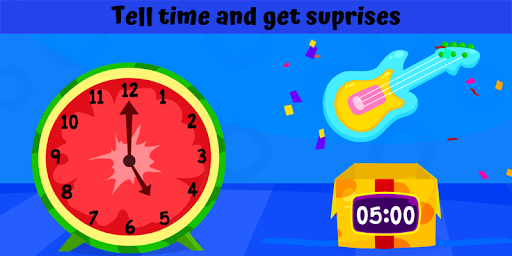 Telling Time Games For Kids - Learn To Tell Time 1.0 screenshots 3