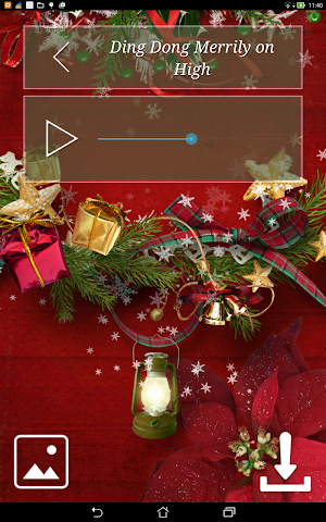 android Christmas Hymns Holiday Themes Screenshot 9