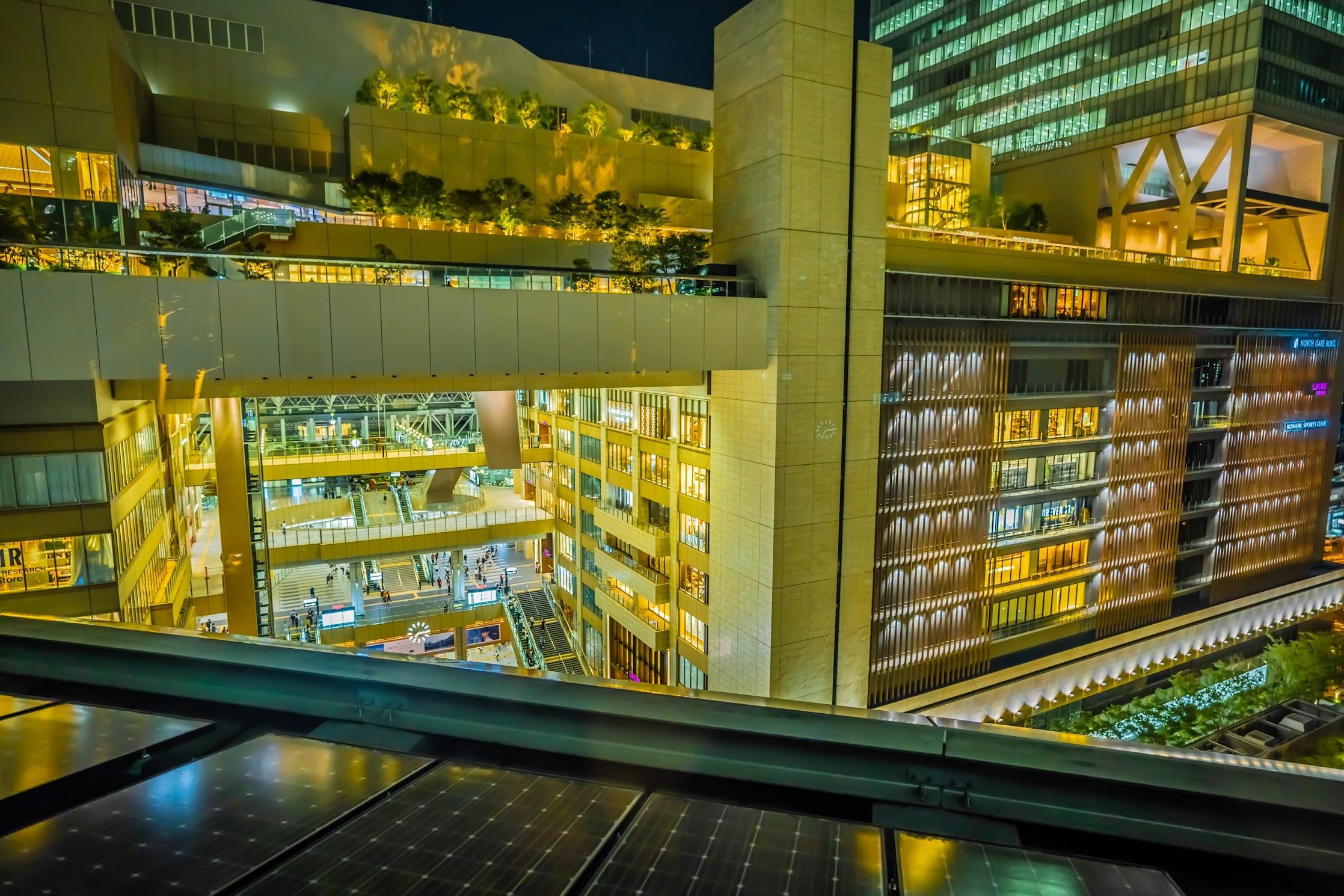 Grand Front Osaka rooftop garden1
