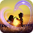 Romantic effects, photo video maker with music Icône