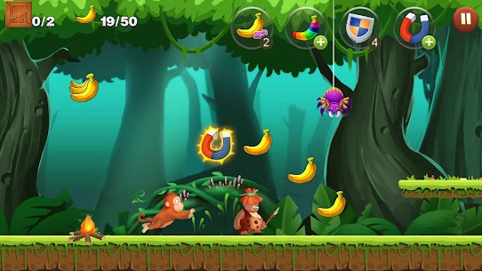 Jungle Monkey Run App Download For Android and iPhone 4