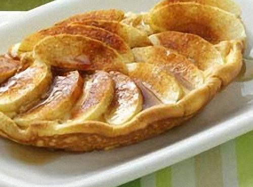 Puffy Apple Omelet Recipe