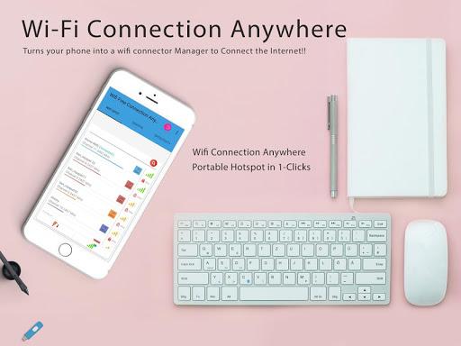 Free Wifi Connection Anywhere & Portable Hotspot 1.0.27 screenshots 1