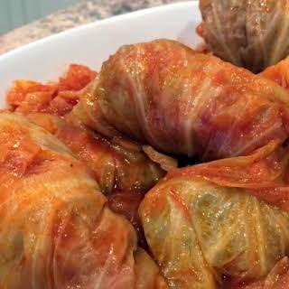 Instant Pot Grandma Lil's Stuffed Cabbage.