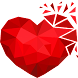 Love Puzzle Game: Polysphere Heart Poly Art 3D