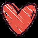 Figurinhas Românticas e de Amor - WAStickerapps icon