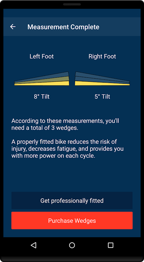 The Foot Fit Calculator- screenshot