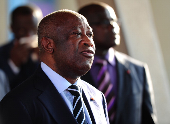 Ivory Coast Incumbent President Laurent Gbagbo waits for the arrival of members of the high-level panel on February 21, 2011 in Abidian, Ivory Coast. Picture: GETTY IMAGES/ XINHUA/ GAMMA-RAPHO