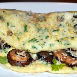 Meaty Mushroom Omelette