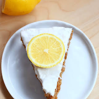 Lemon Cake + Whipped Cream Frosting.