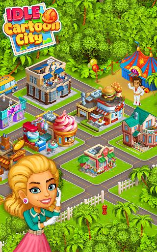 Idle Cartoon City Empire:Miner,Supermarket,Farming Screenshot