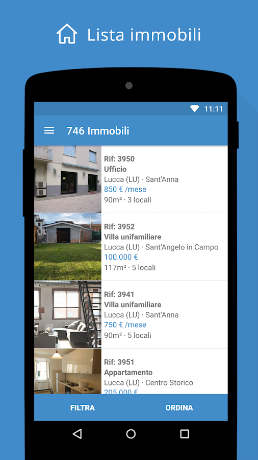 Getrix gestionale immobiliare- screenshot