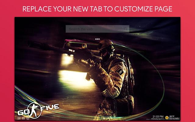 Cs Go Wallpaper HD Custom New Tab