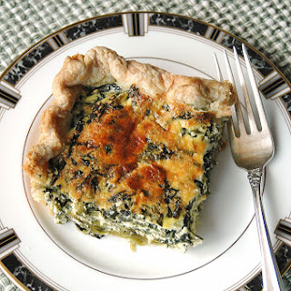 Mom's Spinach-Ricotta Pie