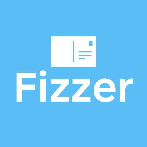 Fizzer - Postcard with your own photos Icon