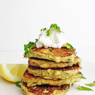 Lemony Zucchini Fritters