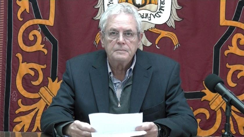 El alcalde de Vera, Jose Carmelo Jorge Blanco.