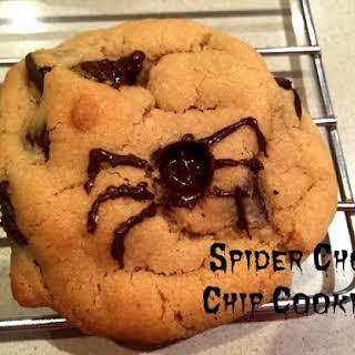 Spider Choc Chip Cookies.