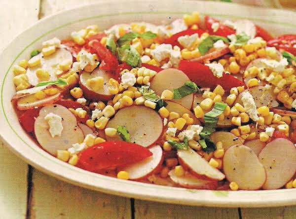 Summer Vegetable Potato Salad Recipe