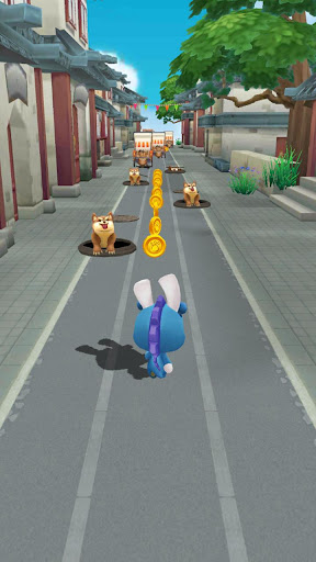 Ninja rabbit Rush - Fun Running Games  captures d'écran 3