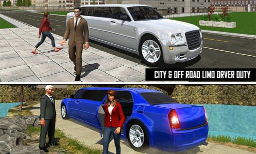 Big City Limo Car Driving Simulator : Taxi Driving 3.8 screenshots 6