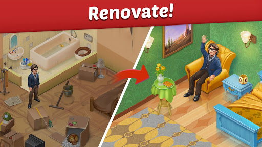 Family Hotel: Renovation & love storyu00a0match-3 game screenshots 19