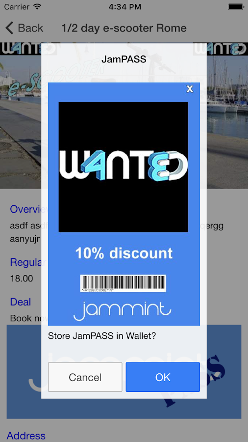 Jammint- screenshot